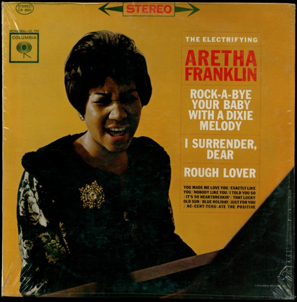 Aretha Franklin The Electrifying Aretha Franklin cover art