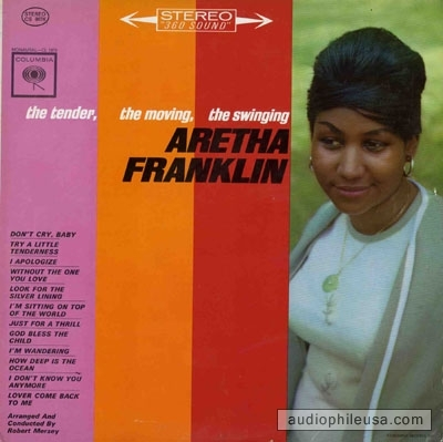 Aretha Franklin The Tender, the Moving, the Swinging cover art