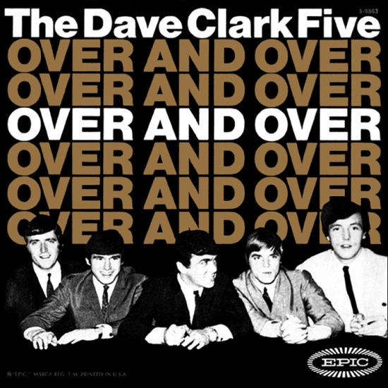 The Dave Clark Five Over and Over Cover Art
