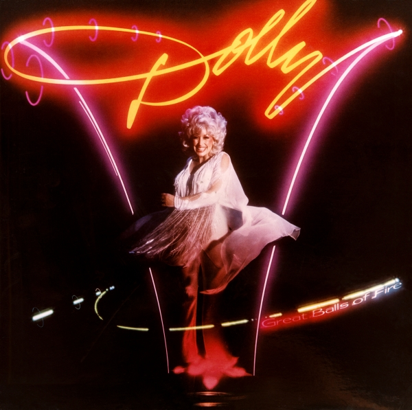 Dolly Parton Great Balls of Fire cover art