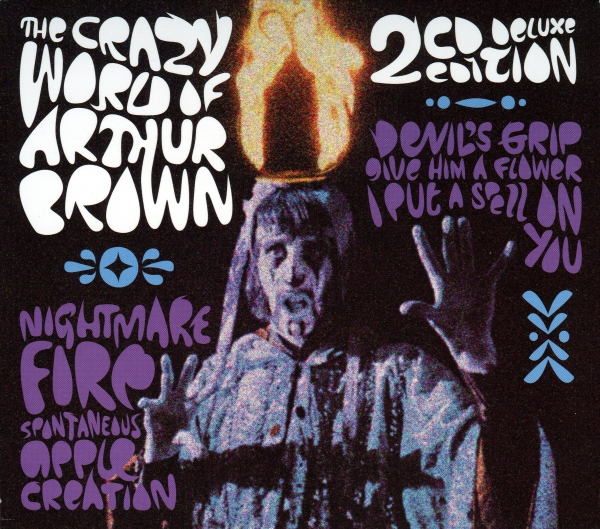Arthur Brown The Crazy World of Arthur Brown cover art