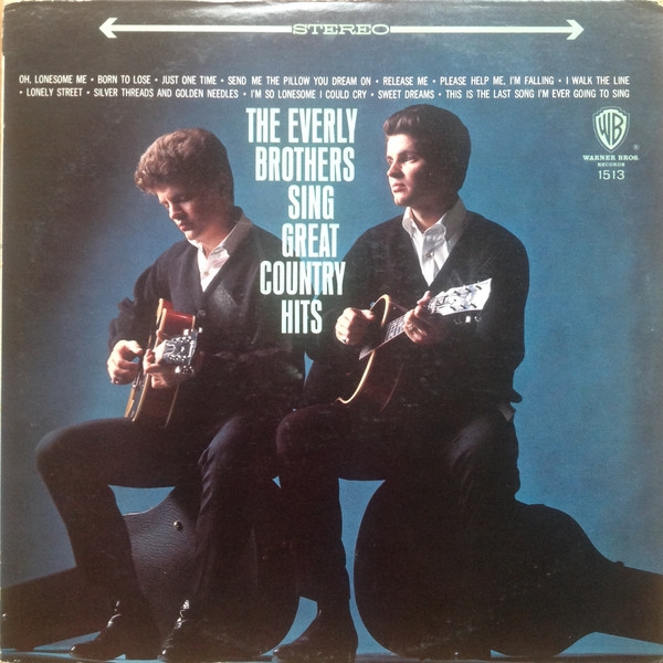 The Everly Brothers The Everly Brothers Sing Great Country Hits cover art