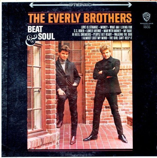 The Everly Brothers Beat & Soul cover art