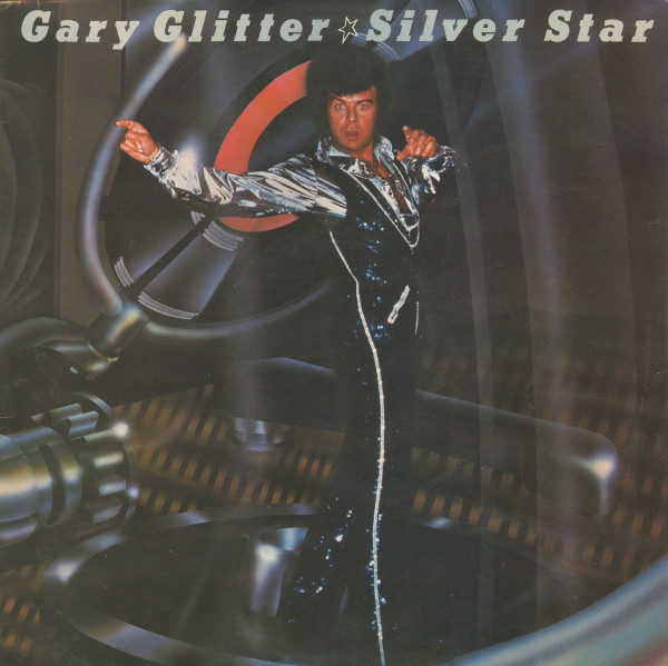 Gary Glitter Silver Star Cover Art