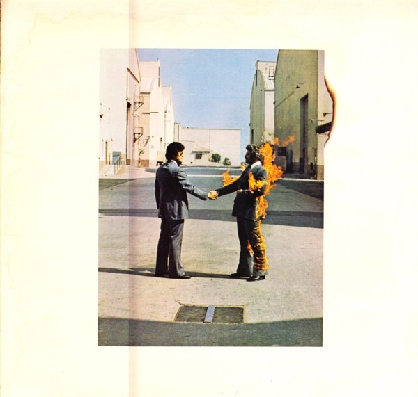 Pink Floyd Wish You Were Here cover art
