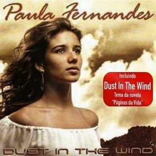 Paula Fernandes Dust in the Wind cover art
