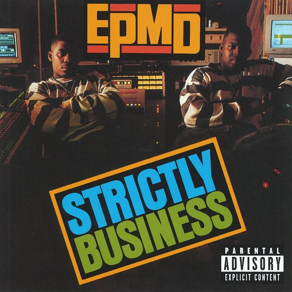 EPMD Strictly Business cover art