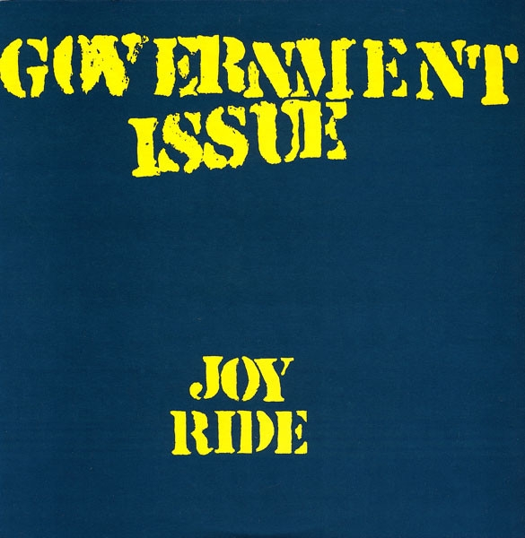 Government Issue Joy Ride cover art