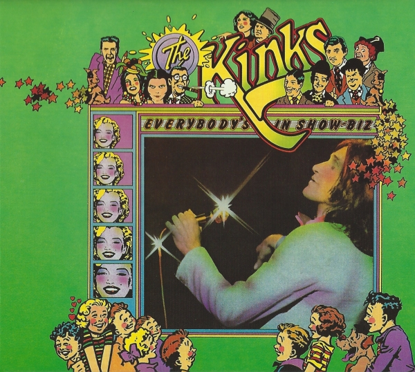 The Kinks Everybody's in Show‐Biz cover art
