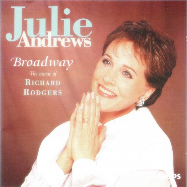 Julie Andrews Broadway: The Music of Richard Rodgers cover art