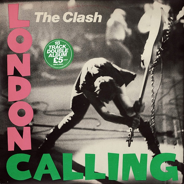 The Clash London Calling cover art
