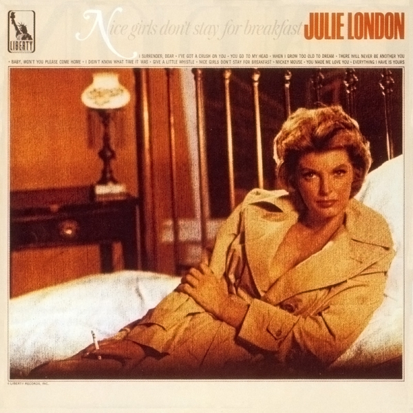 Julie London Nice Girls Don't Stay for Breakfast cover art