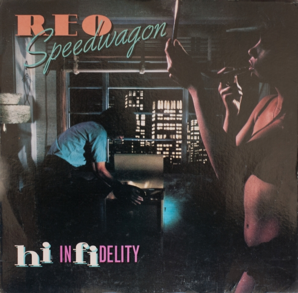 REO Speedwagon Hi Infidelity cover art