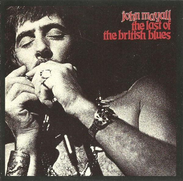 John Mayall The Last of the British Blues Cover Art