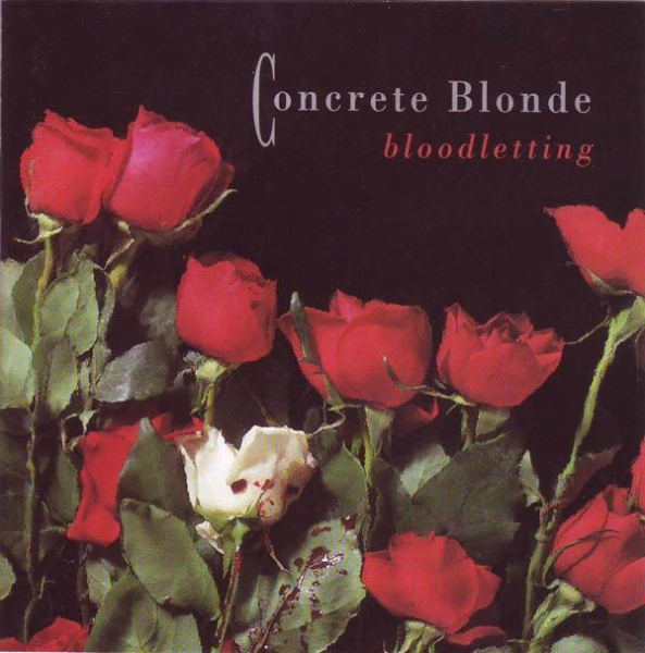 Concrete Blonde Bloodletting Cover Art