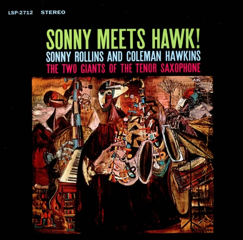 Coleman Hawkins Sonny Meets Hawk! cover art