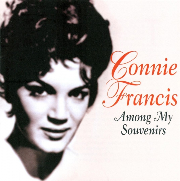 Connie Francis Among My Souvenirs Cover Art