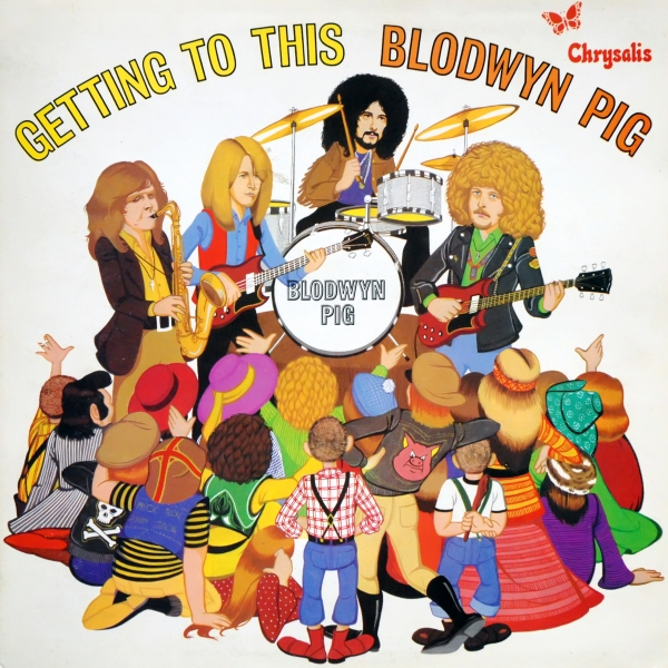 Blodwyn Pig Getting to This Cover Art
