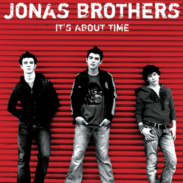 Jonas Brothers It's About Time Cover Art