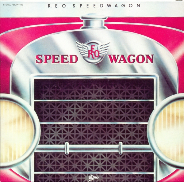 REO Speedwagon R.E.O. Speedwagon cover art