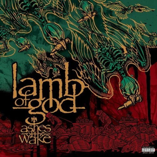 Lamb of God Ashes of the Wake cover art