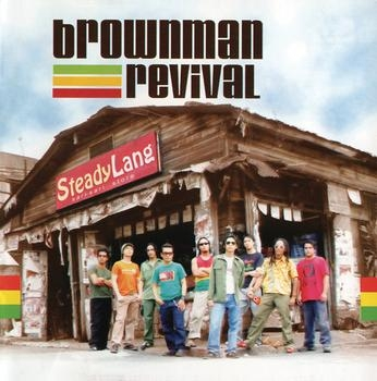 Brownman Revival Steady Lang cover art