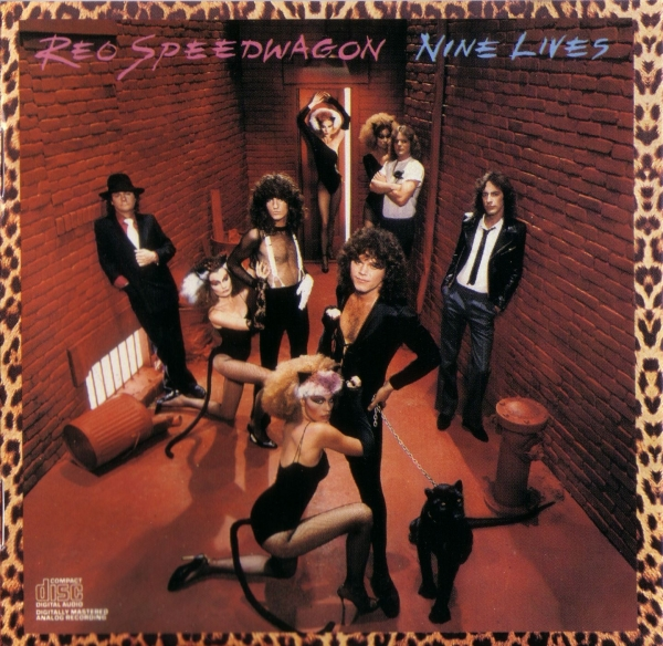 REO Speedwagon Nine Lives cover art