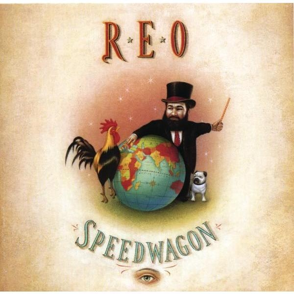REO Speedwagon The Earth, a Small Man, His Dog and a Chicken cover art
