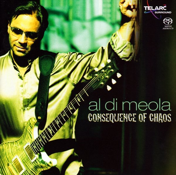 Al Di Meola Consequence of Chaos Cover Art