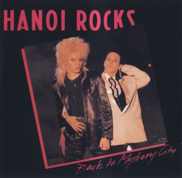 Hanoi Rocks Back to Mystery City cover art