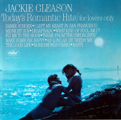 Jackie Gleason Today's Romantic Hits - For Lovers Only Cover Art