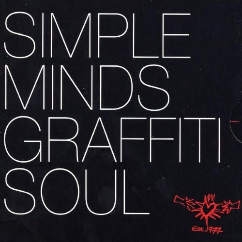 Simple Minds Graffiti Soul cover art