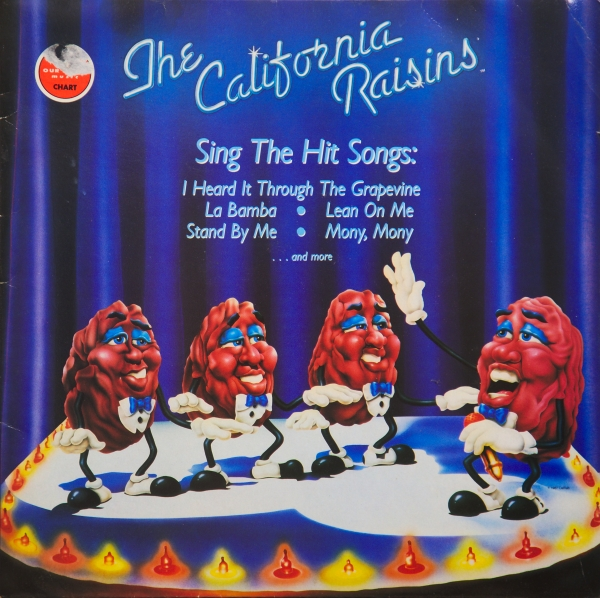 The California Raisins The California Raisins Sing the Hit Songs cover art