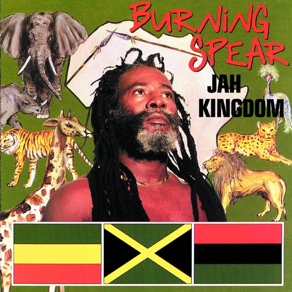 Burning Spear Jah Kingdom Cover Art