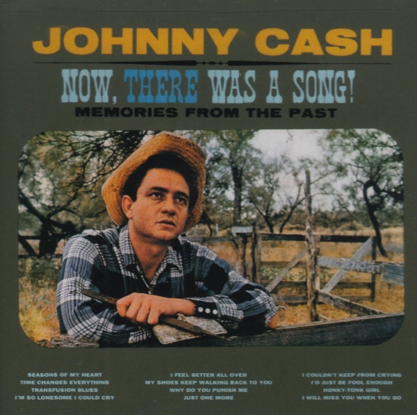 Johnny Cash Now, There Was a Song! cover art