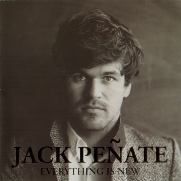 Jack Peñate Everything Is New cover art