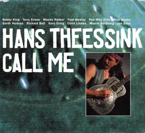 Hans Theessink Call Me cover art