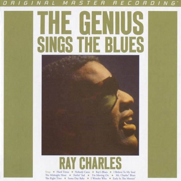 Ray Charles The Genius Sings the Blues cover art