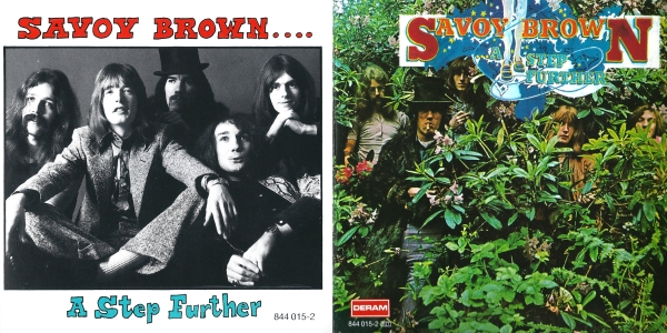 Savoy Brown A Step Further Cover Art