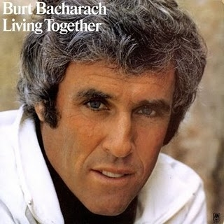 Burt Bacharach Living Together cover art
