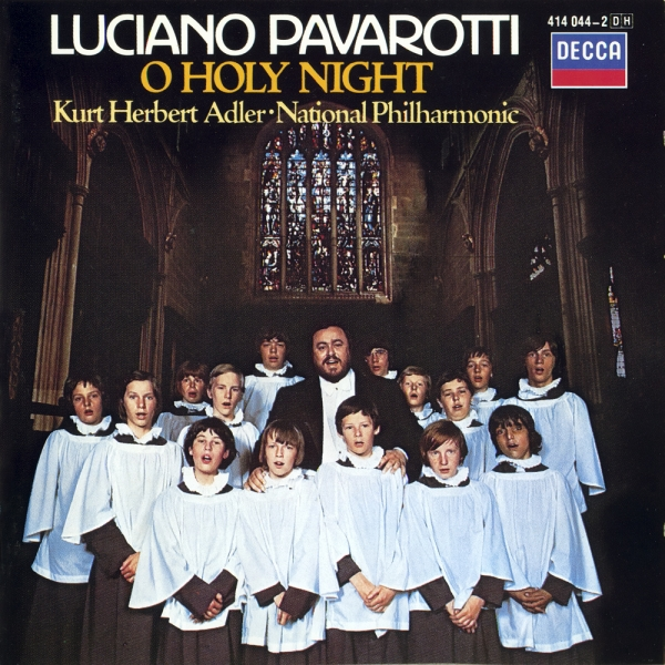 Luciano Pavarotti O Holy Night cover art