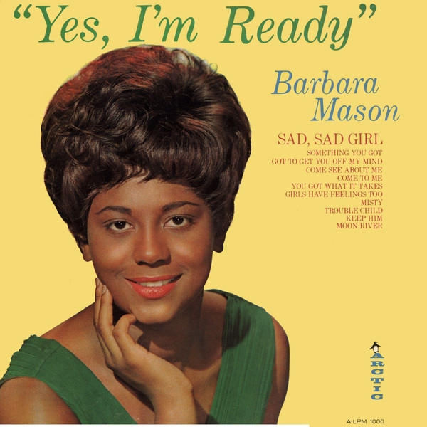 Barbara Mason Yes, I'm Ready cover art