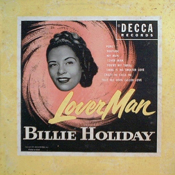 Billie Holiday Lover Man cover art