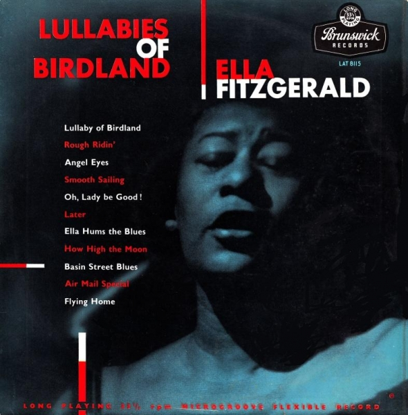 Ella Fitzgerald Lullabies of Birdland cover art