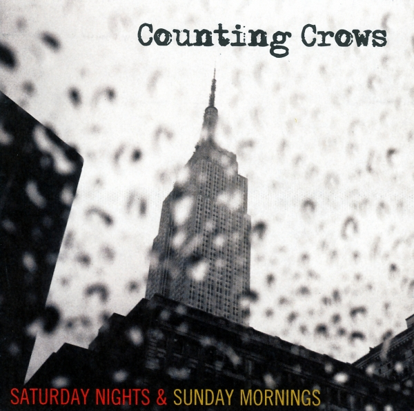 Counting Crows Saturday Nights & Sunday Mornings cover art