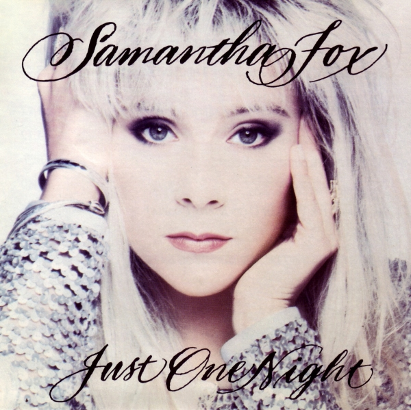Samantha Fox Just One Night cover art