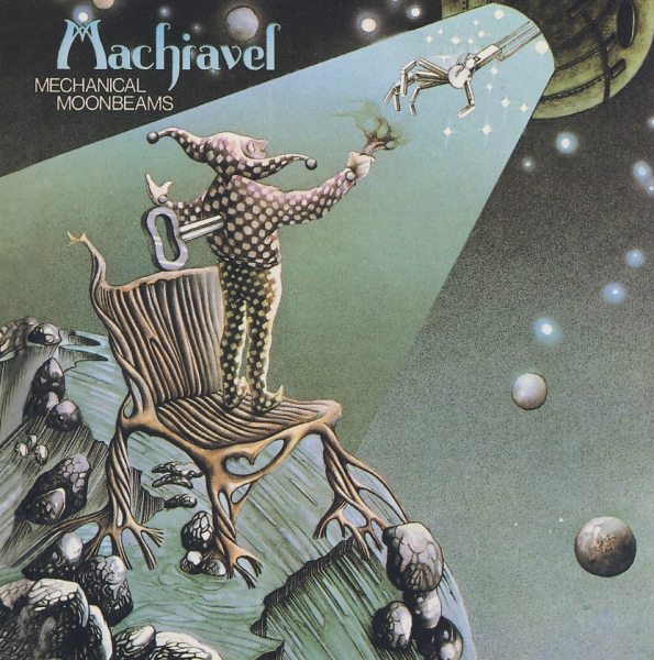Machiavel Mechanical Moonbeams Cover Art