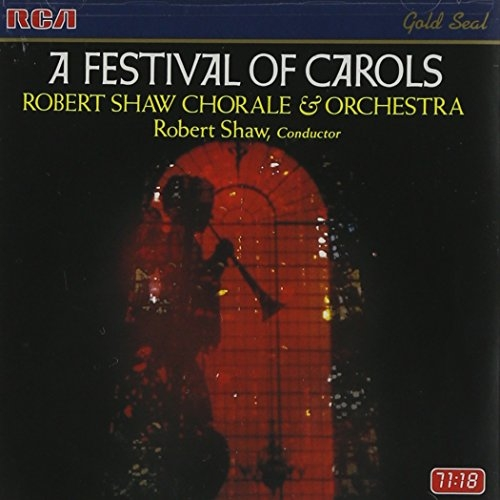 Robert Shaw Chorale A Festival of Carols cover art