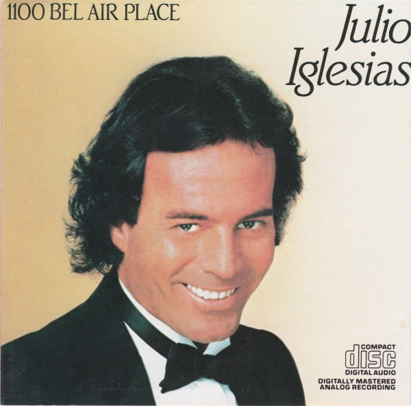 Julio Iglesias 1100 Bel Air Place cover art