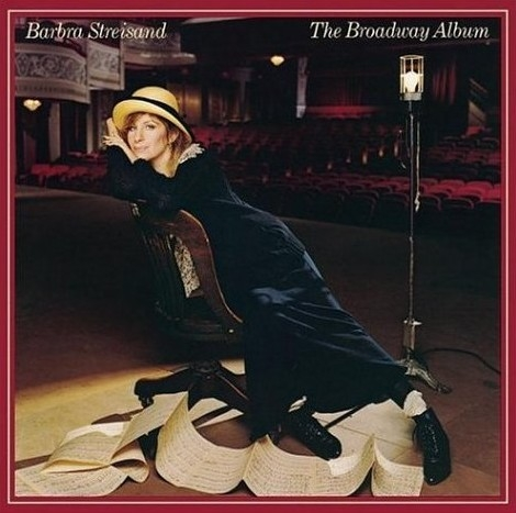 Barbra Streisand The Broadway Album cover art